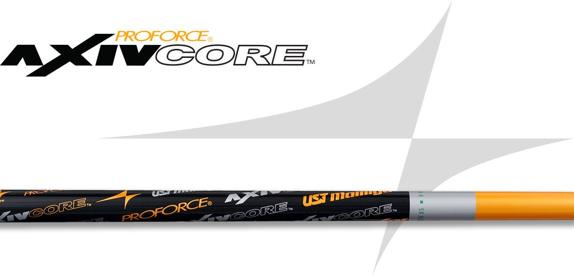 PROFORCE AXIVCORE Green Wood Golf Shaft